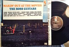 "BOSS GUITARS LP "" MAKIN' OUT AT THE MOVIES "" KAPP, 1965 MONO, NM - Movie Themes"