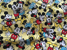 CLEARANCE DISNEY MICKEY MINNIE MOUSE CHARACTER CHILDREN GIRLS FABRIC