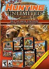 HUNTING UNLIMITED 1+2+3+4+2008-2011 8 Hunt Games Win XP/Vista/7/8/10 PC NEW