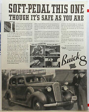 Vintage 1936 magazine ad for Buick - Buick 8 Century photo, Safe as you are