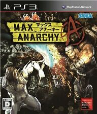 (Used) PS3 Max Anarchy REIGNS [Import Japan]((Free Shipping))