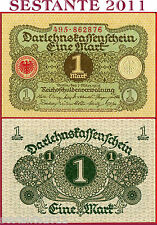 GERMANY GERMANIA    -     1 MARK 1.3. 1920    -    P 58 -   FDS / UNC Perfect