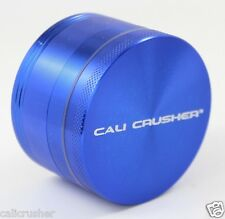 Cali Crusher Herb, Tobacco and Spice Grinder 2.5 inch 4 Piece Aluminum New Blue