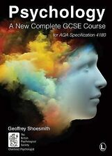 NEW - Psychology: A New Complete GCSE Course, for AQA Specification 4180, Shoesm