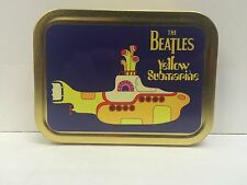 The Beatles Yellow Submarine 60's Music Record Cigarette Tobacco Storage 2oz Tin