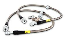 STOPTECH STAINLESS STEEL REAR BRAKE LINES FOR 06-11 HONDA CIVIC
