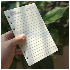 """1pcs the dowling paper for 7,7.5""""x5"""" FT notebook using clip Pages 200"""