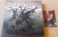 B.A.P BAP SIGNED ALBUM MATRIX WITH JONGUP PHOTO CARD /MWAVE