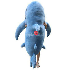 "71""(1.8M) GIANT HUGE SHARK STUFFED ANIMAL PLUSH SOFT TOY PILLOW SOFA doll GIFT"