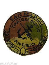Patch San Marco Tiratore Scelto Anfibio Marina Militare Mimetica BSM Toppa