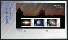 2009 Stargazing Southern Skies Minisheet FDC First Day Cover Stamps Australia
