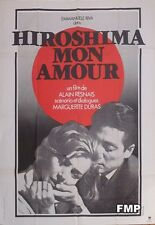 HIROSHIMA MON AMOUR - RESNAIS / DURAS - REISSUE LARGE FRENCH MOVIE POSTER