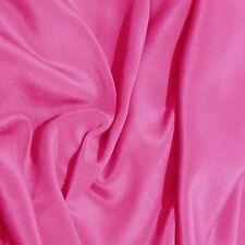 #24 Hot Pink Tissu en Soie 12 momme Crêpe de Pure Soie de Chine