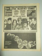 NME #1116 JUNE 1 1968 PAUL MCCARTNEY ROLLING STONES ELVIS PRESLEY BEATLES LULU