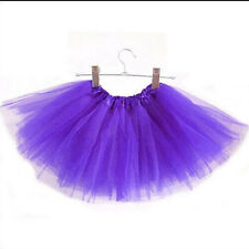 Girls Kids Baby Dance Fluffy Tutu Skirt Pettiskirt Ballet Dress Fancy Costume