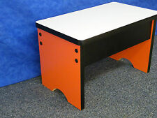 Small Table Work Surface Step Stool Bench,  Shop Seat for Dorm Room
