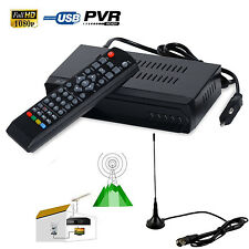 FTA ISDB-T HD Digital Terrestrial Convertor TV BOX Receiver PVR + 5dBi Antenna