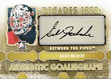 Gilles Meloche 2012-13 ITG Between the Pipes Decades 1970s AUTO Goaliegraph *I34