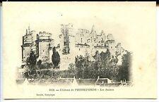 CP 60 OISE - Pierrefonds - Château - Les Ruines