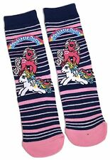 LADIES MY LITTLE PONY STRIPED SOCKS UK SIZE 4-8 EUR 37-42 US 6-10