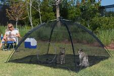 Cat Dog Pet Outdoor Tent Cage Shelter House Enclosure Happy Habitat ABO Gear New