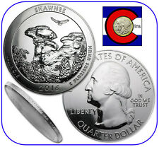 2016 Shawnee IL 5 oz Silver America the Beautiful (ATB) Coin in airtite