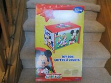 Delta Disney Mickey Mouse Clubhouse Toy Box fun storage Minnie Donald Friends