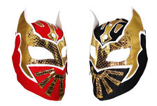 2 pack SIN CARA YOUTH KIDS Wrestling Mask Lucha Libre Mask Party Pack Red Black
