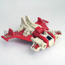 TRANSFORMERS G1 Loose - Technobots (Computron) - Strafe (1987) Perfect Condition