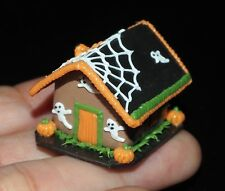 1:12 DOLLHOUSE MINIATURES HALLOWEEN GINGERBREAD HOUSE FOOD NIGHT PARTY DECO A03