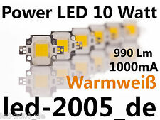 3 x Power LED 10 Watt Warmweiss,990 Lumen,1000mA,9-11 Volt,LED Chip 10 Watt,