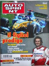 Autosprint n°38 2004 Novità Porsche Boxster - Jarno Trulli divorzio Toyota [P23]