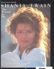 SHANIA TWAIN / THE WOMAN IN ME / COUNTRY SHEET MUSIC SONGBOOK / P/V/G SONG BOOK