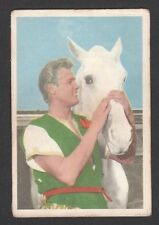 Ivanhoe Roger Moore 1958 TV Series Scarce Card Look! from Germany Q