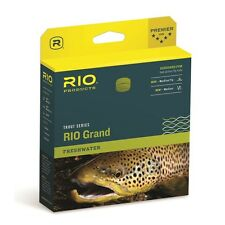 RIO GRAND Fly Line - WF6F - Color Pale Green/Lt.Yellow - New