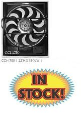 """Cooling Components 22"""" H x 18-1/2"""" W  2-Speed Electric Fan Shroud Combo CCI-1750"""