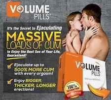 100% Genuine Volume Pills Male Climax Semen/Sperm Enhancement Orgasm Tablets