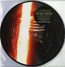 O.S.T. STAR WARS THE FORCE AWAKENS DOPPIO VINILE LP PICTURE DISC NUOVO SIGILLATO