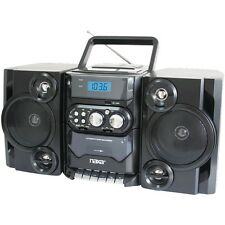 NAXA NPB428 Portable CD/MP3 Player with AM/FM Radio, Detachable Speakers, Remote