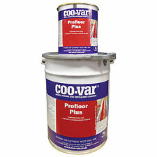 Coo-Var Tile ProFloor Plus Floor Paint | Red | 5Kg | Solvent Free