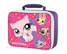 LITTLEST PET SHOP-insulated lunchbox. INCLUDES A WATER BOTTLE!