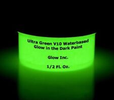 Glow Inc. Ultra Green V10 Water Based Glow in the Dark Paint (1/2 Oz)