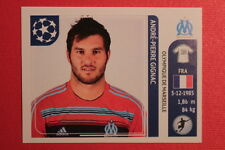 PANINI CHAMPIONS LEAGUE 2011/12 N 377 GIGNAC MARSEILLE WITH BACK BACK MINT!!