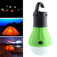 Outdoor White 3 LED Hanging Camping Tent Light Bulb Fishing Lantern Lamp New
