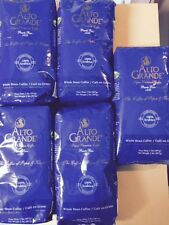 WHOLE BEAN COFFEE PUERTO RICO ALTO GRANDE SUPER PREMIUM 10 LBS LOT OF 5