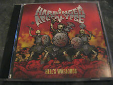 HARBRINGER OF THE APOCALYPSE hell's warlords CDR DOOM SLUDGE MORTALS RED FANG