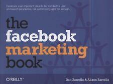 NEW - The Facebook Marketing Book by Zarrella, Dan; Zarrella, Alison