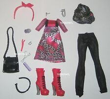 Ever After High Poppy O'Hair Doll Outfit Clothes Dress Tights Shoes NEW Monster