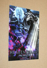 Final Fantasy XIV 14 Heavensward promo Sticker Aufkleber Gamescom 2015