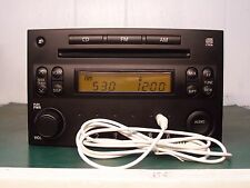 2004 2005 NISSAN 350Z RADIO SINGLE CD PLAYER With AUX INPUT